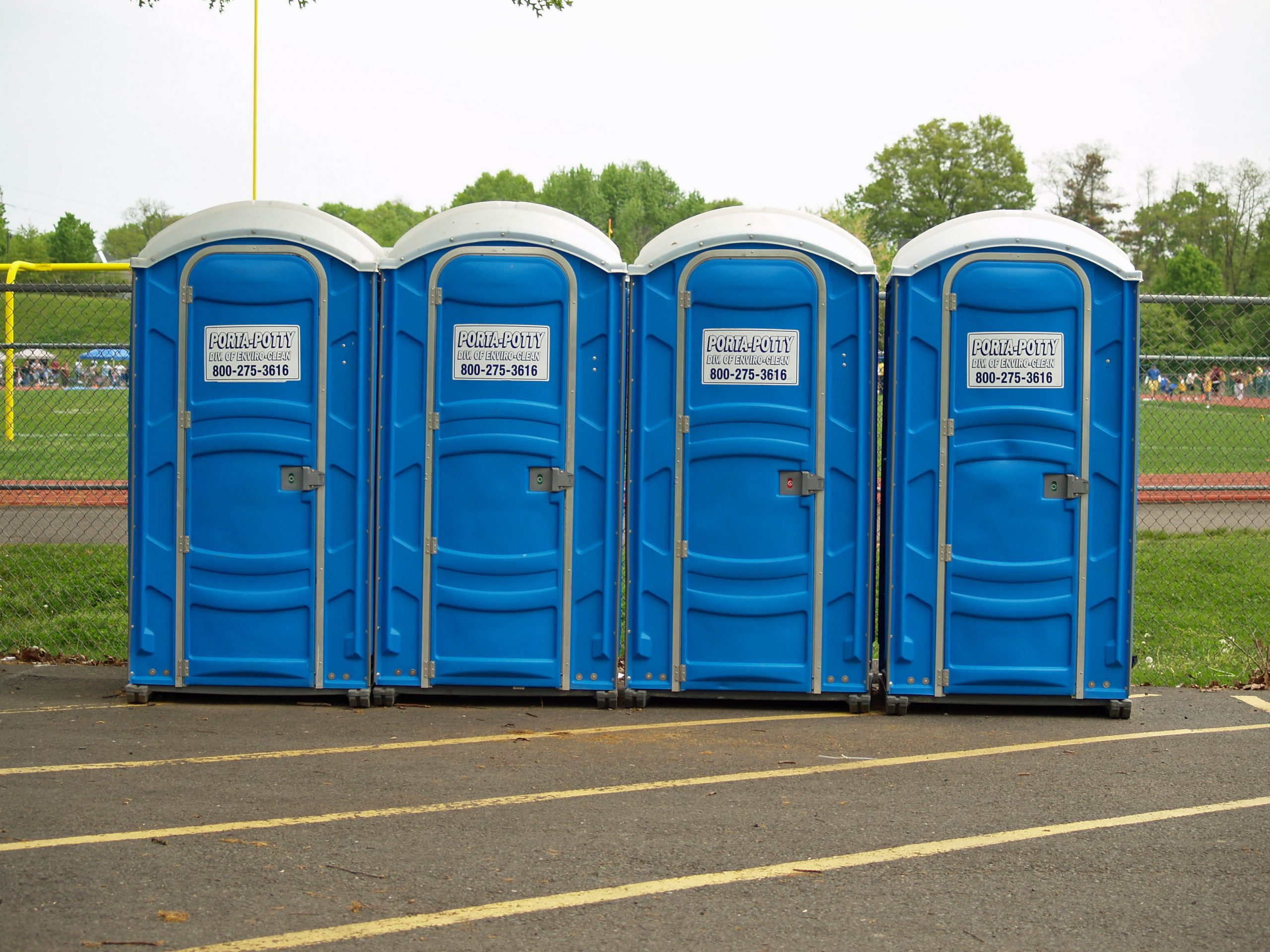 What are the different models of portable toilets?