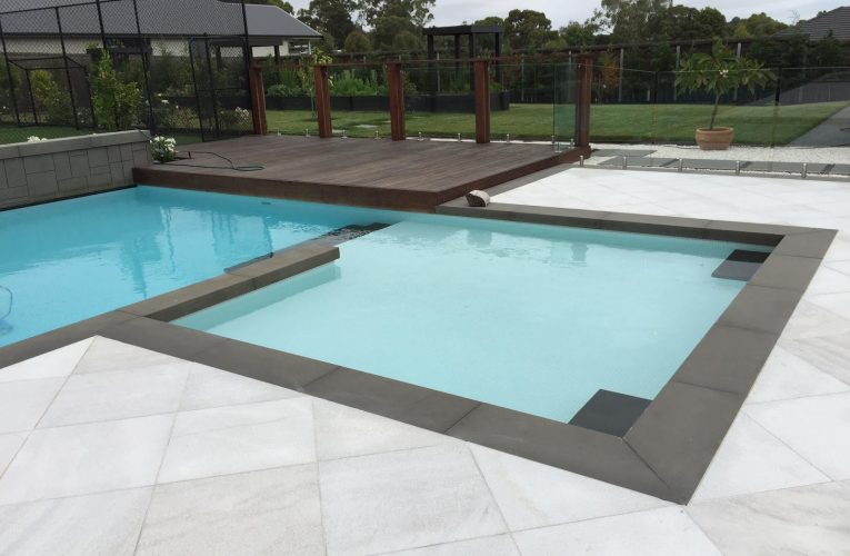SWIMMING POOL PAVING WITH BULLNOSE COPING AT EXCITING PRICES